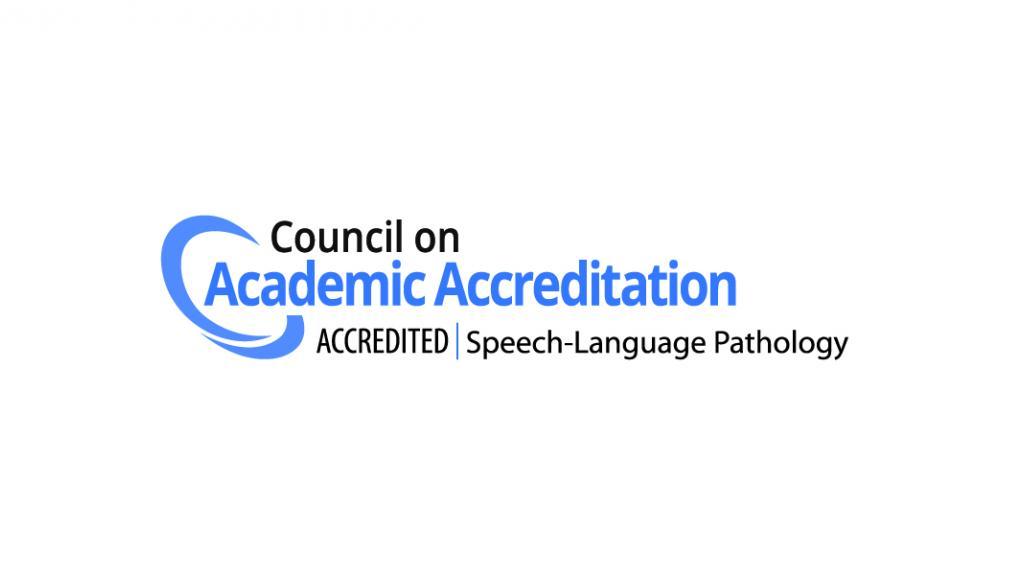 Council on Academic Accreditation logo - Speech Language Pathology
